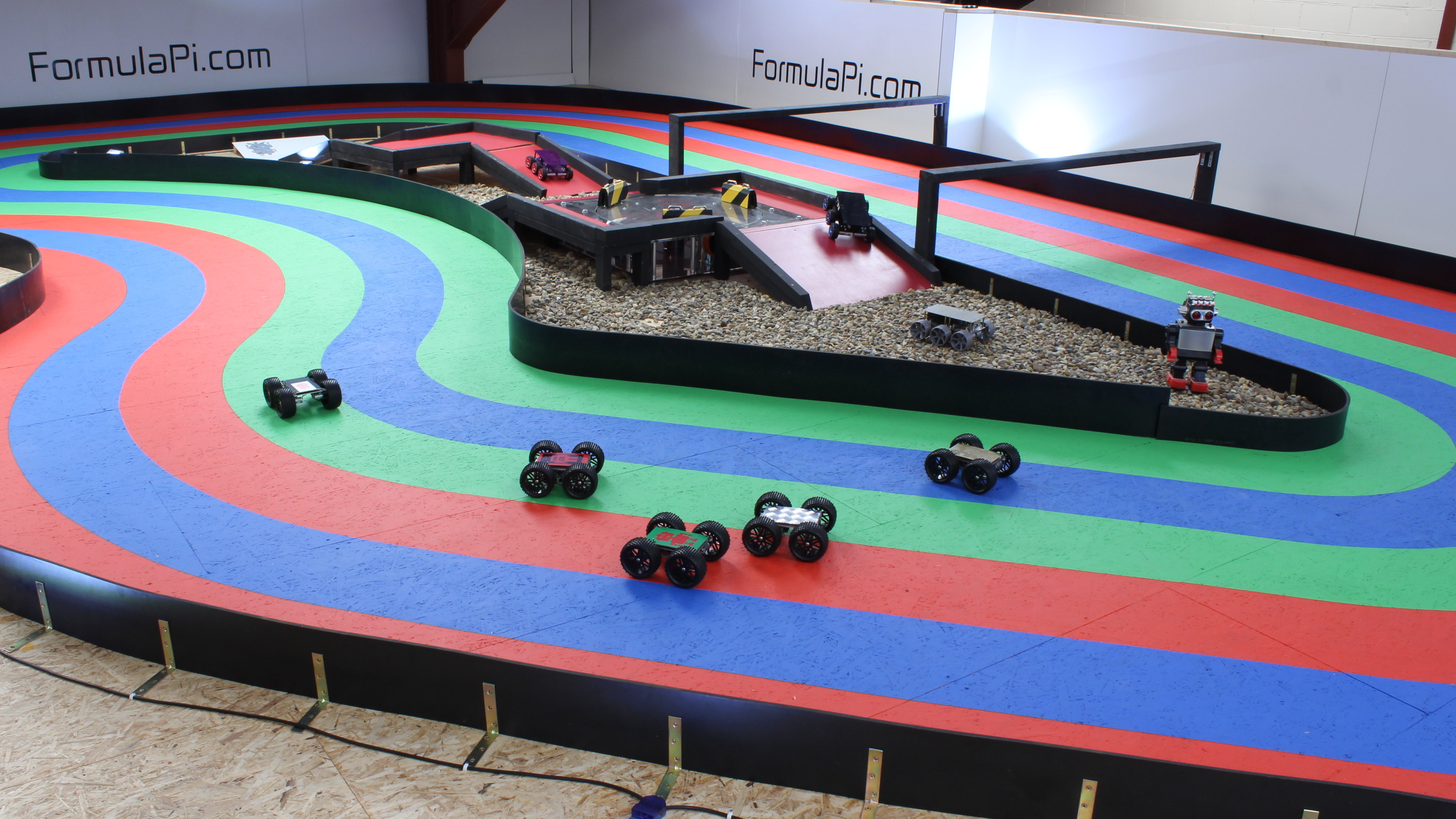 Race Track Lap Timer >> Formula Pi   Self-driving robot racing with the Raspberry Pi