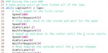 Race Code Functions